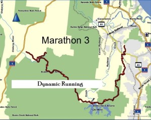 Cairns Marathon 2016 Route