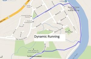 Kauri Half Marathon Course
