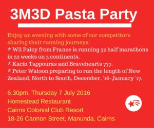 Pasta Party update
