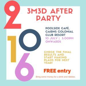 2016 3M3D after party